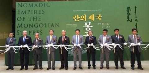 NOMADIC EMPIRES OF THE MONGOLIAN STEPPES EXHIBITION OPENS IN NATIONAL MUSEUM OF KOREA