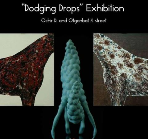 'DODGING DROPS' EXHIBITION OPENS