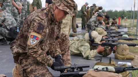 MONGOLIAN SNIPERS IN THE 5TH PLACE IN INTERNATIONAL CONTEST