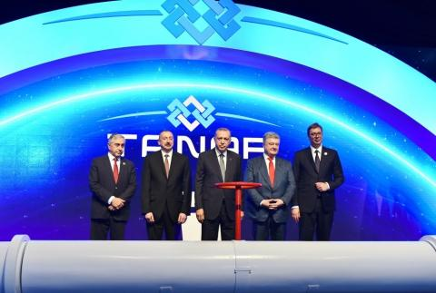 Azerbaijan has implemented huge transnational energy and transport projects under President Ilham Aliyev