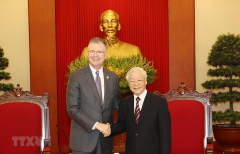 Party leader lauds US ambassador's contributions to Vietnam-US ties