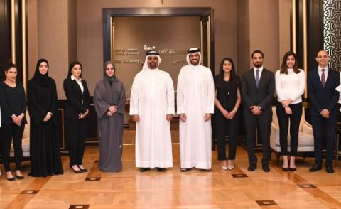 Minister of Finance and National Economy receives the fourth intake of the FDPM Fellowship