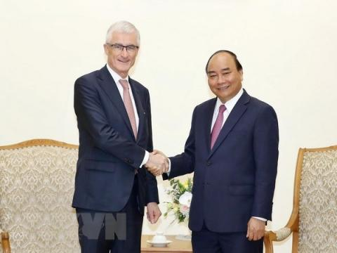 PM pledges to create optimal conditions for Belgian businesses