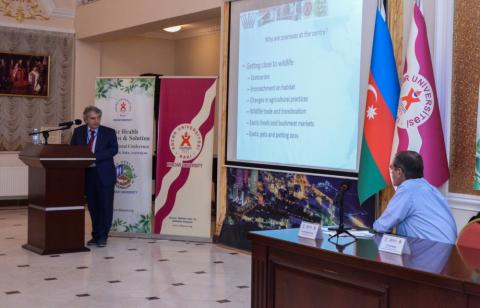 """One health: Problems and Solution"" 1st international conference kicks off Baku"