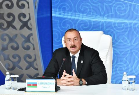 Azerbaijani President: Next year, we will celebrate the 70th anniversary of oil production in the Caspian Sea