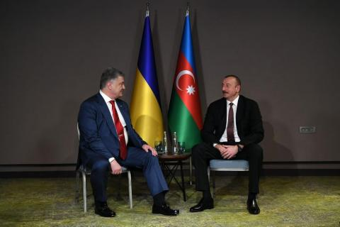 Presidents of Azerbaijan, Ukraine meet in Turkey