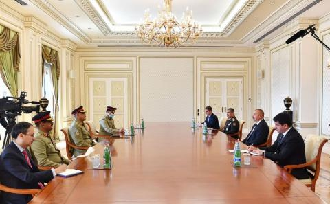 We are particularly grateful to Pakistan for its very active support of Azerbaijan in second Karabakh war - President Aliyev