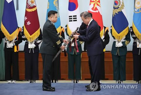 President Moon urges efforts to create peaceful fishing zone in Yellow Sea
