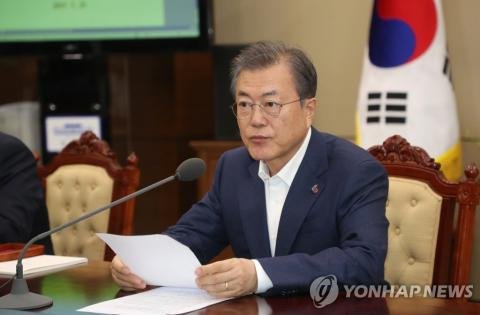 Moon to comment on U.S. summit, N.K. leader's speech: official