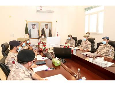 Meeting of Preparatory Committee for GCC Supreme Military Committee Consultative Meeting Opens