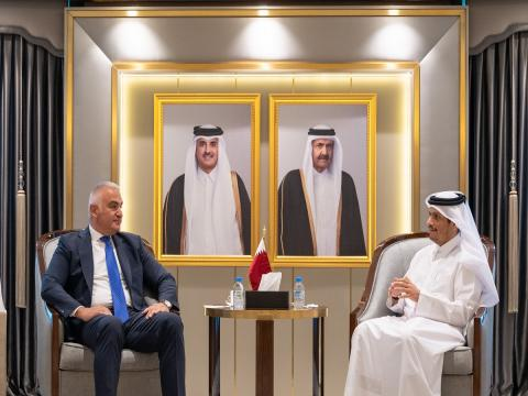Qatar's Deputy Prime Minister and Minister of Foreign Affairs Meets Turkish Minister of Tourism and Culture