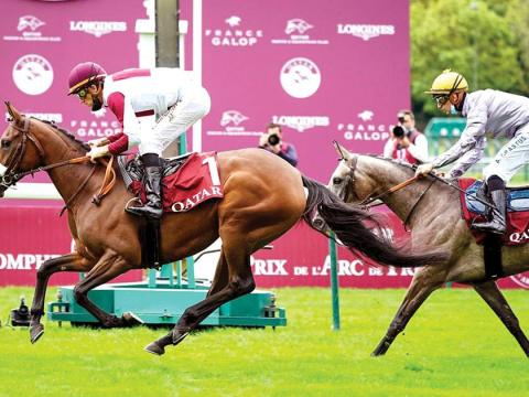 Qatari Horses Continue Victories with Two Wins in England