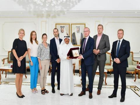 Qatar, Latvia Chambers Discuss Enhancing Joint Cooperation