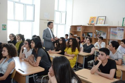UNEC representatives visit more than two hundred schools