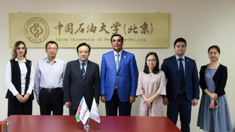 BHOS, China University of Petroleum sign Cooperation Agreement