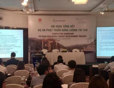 WB-funded project helps renewable energy development in Vietnam