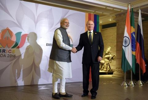 Modi, Putin Agree on Economic Ties Between Indian Think Tank, Russian Ministry