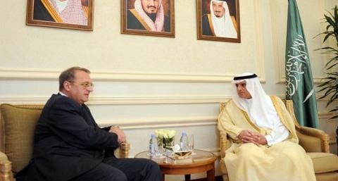 Foreign Minister Receives Russian President's Special Envoy to Syria