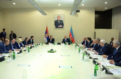 Azerbaijan-Serbia working meeting held in Baku