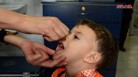 New national anti-polio vaccination campaign lunched Sunday