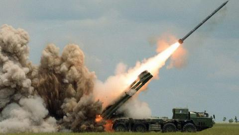 Armenian Armed Forces shell Azerbaijan's Tartar by using 'Smerch' missiles