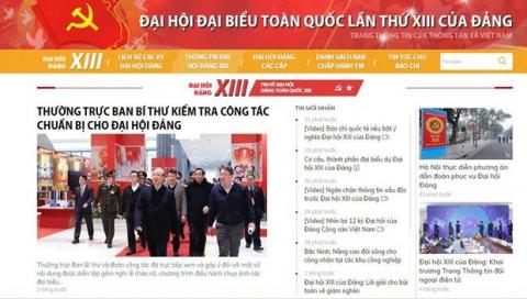 Vietnam News Agency helping spread official news on 13th National Party Congress