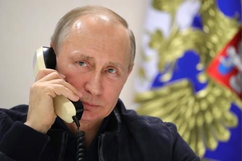 Putin, Netanyahu discuss situation in Middle East in telephone call - Kremlin