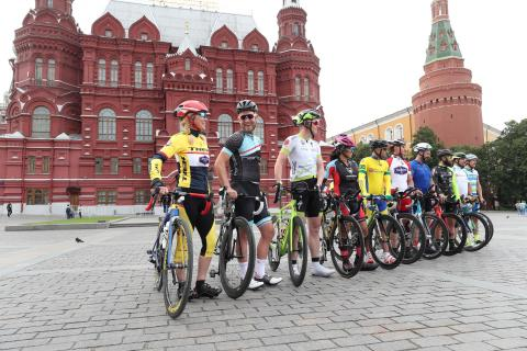 World's longest bicycle race kicks off in Moscow