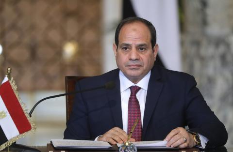 Egyptian president arrives for official visit to Moscow