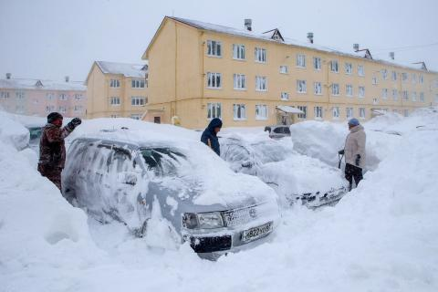 State of emergency declared over cyclone in Russia's Far East