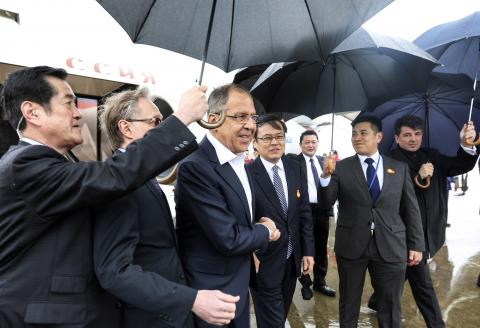 Lavrov jokes about Russia 'meddling' with Japan's weather