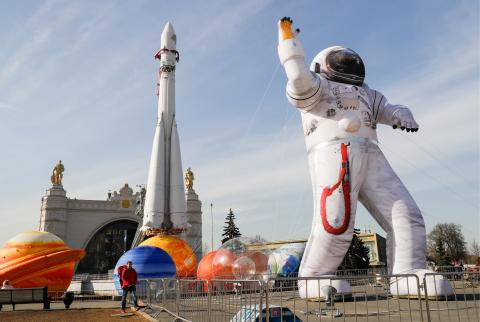Putin promises to push ahead with Russia's lunar program