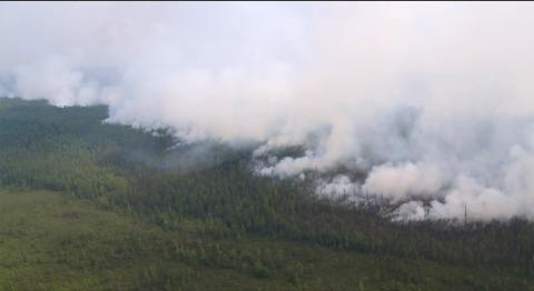 Military jets put out 90,000 hectares of fires in Siberia in 24 hours - Ministry