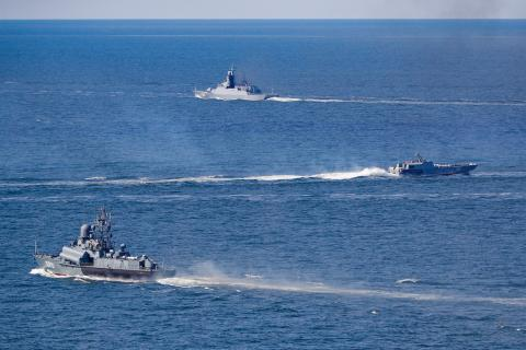 Baltic Fleet forces wrap up participation in Russian Navy's Oceanic Shield drills