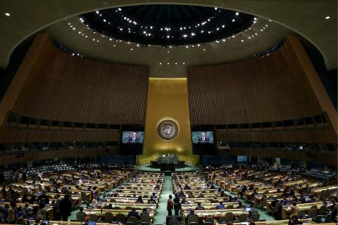 Kremlin vows in spite of absence, Putin's voice will be heard at 75th UN General Assembly