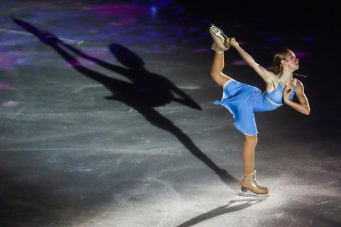 Russian figure-skating teen prodigy chalks up third-time Guinness World record
