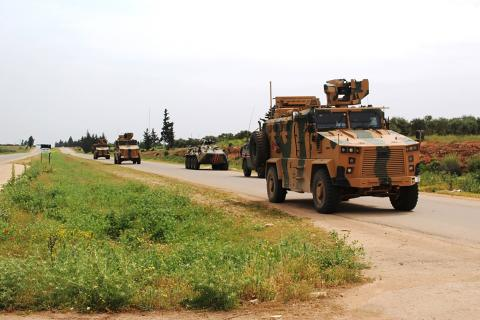 Russian-Turkish patrol in Syria extends route to reach Urum al-Jawz first time