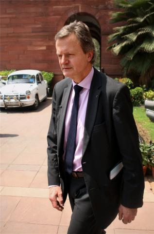 Norwegian firm Telenor CEO Jon Fredrik Baksaas