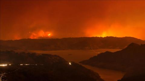 US: California's largest wildfire on-track for record
