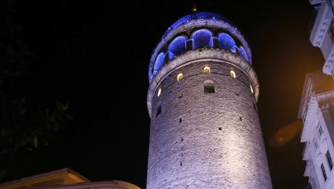 Turkey: Galata Tower to wear tie for cancer awareness