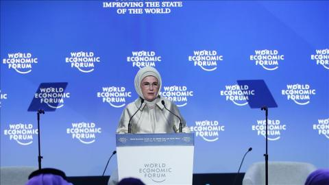 Green economy possible: Turkey's first lady