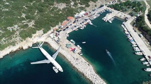 Turkey scuttles plane to boost scuba-diving tourism