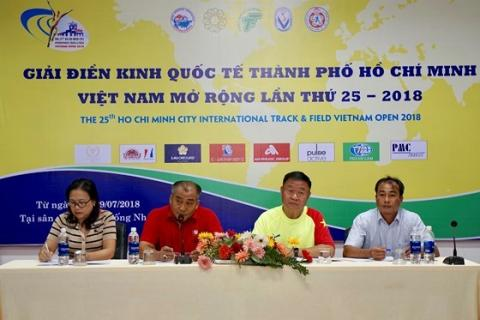 Vietnam's city hosts int'l open track and field tourney