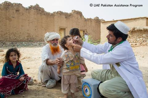 UAE makes final payment towards US$120 million commitment to Global Polio Eradication Initiative