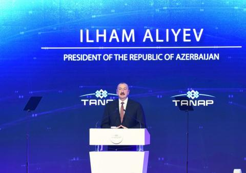 President Ilham Aliyev: TANAP is another victory for Turkey and Azerbaijan