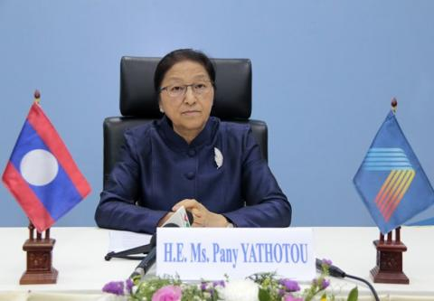 AIPA-41: Top Lao legislator praises Vietnam's high sense of responsibility