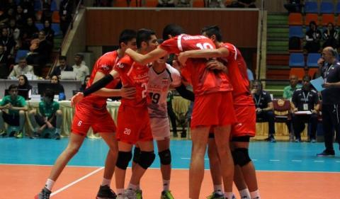 Iran U19 national volleyball team defeats Cuba in friendly game