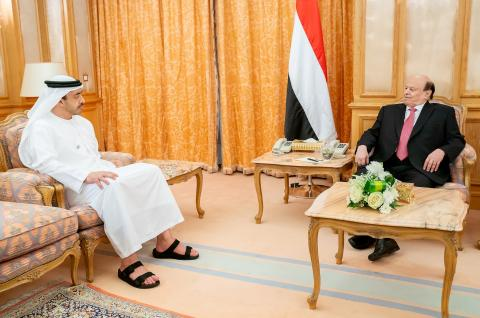 Yemeni President, Abdullah bin Zayed review latest developments in Yemen