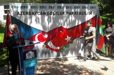 Azerbaijan Friendship Park inaugurated in Istanbul