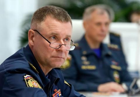 Putin Awards Hero of Russia Title to Emergencies Minister Zinichev Posthumously